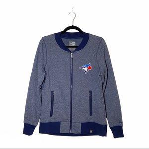 NEW ERA Blue Jays Women's Varsity Full Zip Jacket